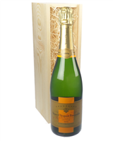 Veuve Clicquot Vintage Champagne Gift in Wooden Box