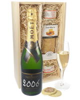 Moet Chandon Vintage Champagne and Pate