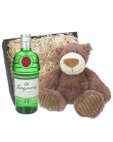 Tanqueray Gin And Teddy Bear Gift