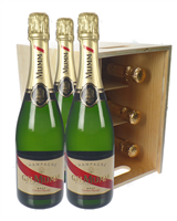 Mumm Cordon Rouge Six Bottle Crate