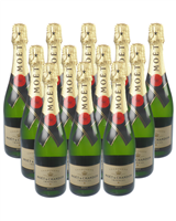Moet NV Champagne Case