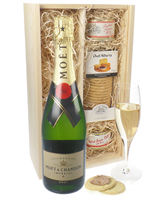 Moet et Chandon NV Champagne and Pate