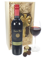 Malbec Wine And Chocolates Gift