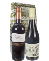 Christmas French And Italian Red Wine Gift
