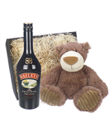 Baileys and  Teddy Bear
