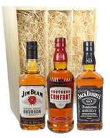 Bourbon Whiskey Triple Gift Set