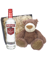 Smirnoff Vodka and Teddy Bear