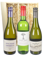 Tri-Nation Triple White Wine Gift