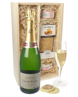 Laurent Perrier NV Champagne and Pate