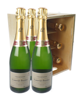Laurent Perrier Six Bottle Crate