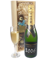 Moet Vintage Champagne and Chocolates
