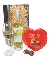 White Wine Valentines Gift