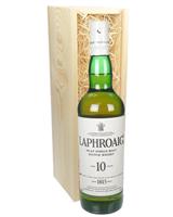 Laphroaig 10 Year Old Islay Single Malt Scotch Whisky Gift