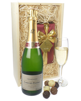 Laurent Perrier Champagne and Belgian Chocolates
