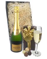 Krug Champagne and Belgian Chocolates