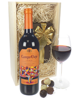 Campo Viejo Reserva and Luxury Chocolate Gift