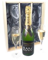 Moet Vintage Champagne Flute Set