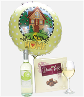 New Home Gift White Wine