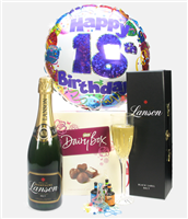 18th Birthday Champagne And Chocolates Gift