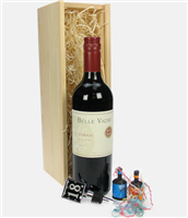 Red Wine And Bottle Stopper 18th Birthday Gift