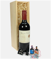 21st Birthday Red Wine And Stopper Gift