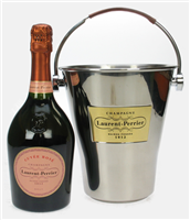 Laurent Perrier Rose Champagne Ice Bucket