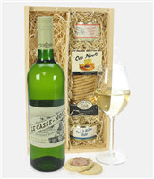 French Sauvignon Blanc Wine And Pate Gift