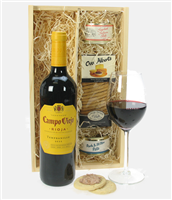 Campo Viejo Crianza and Pate