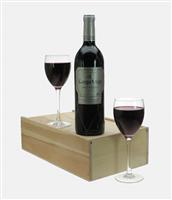 Campo Viejo Gran Reserva Wine and Glasses