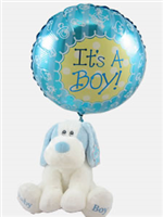 Baby Boy Gift With Balloon