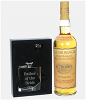 Glenmorangie Father Of The Bride Hip Flask