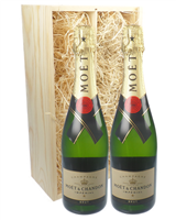 Moet et Chandon Champagne Twin Gift