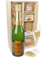 Veuve Clicquot Vintage Champagne and Pate