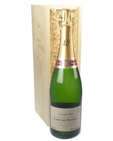 Laurent Perrier Champagne Gift in Wooden Box