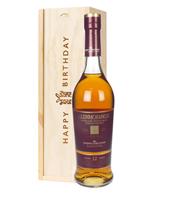 Glenmorangie Lasanta Single Malt Whisky Birthday Gift In Wooden Box