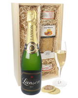 Lanson Black Label Champagne and Pate Gift