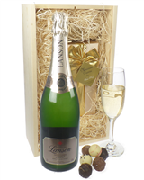 Lanson Vintage Champagne and Belgian Chocolates